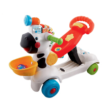 宝宝滑行车学步车多功能小斑马踏行车儿童手推车可坐