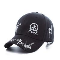 太阳帽子 男士夏天潮人鸭舌帽韩版棒球帽女士嘻哈时尚青年遮阳帽