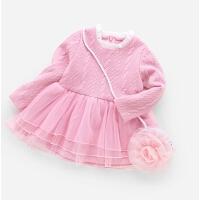 女童春装连衣裙1一岁6儿童公主裙长袖4婴儿小童春秋2-3-5宝宝裙子