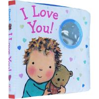 【英文原版】I Love You Cloth Book 布书 睡觉书 爱的晚安系列 Caroline Jayne Church 0-3岁幼儿趣味绘本 玩具书