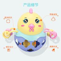 小孩软胶0-1岁男孩新生婴儿摇铃玩具3-6-9-12个月益智女宝宝