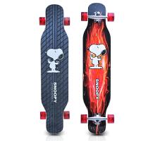 长板初学公路四轮滑板车青少年刷街男女生大轮舞板滑板
