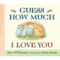 【预订】Guess How Much I Love You Lap-Size Board Book