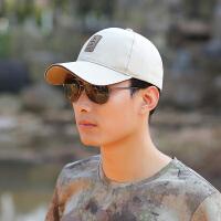 时尚男士棒球帽户外运动帽长檐太阳帽韩版潮鸭舌帽遮阳帽棉帽子