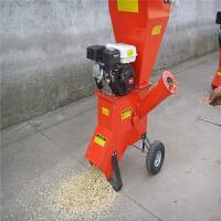 破碎枝机械 园林机械 碎枝机 树枝树叶粉碎机 新品汽油碎木机 树枝破碎机