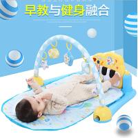 哆啦A梦婴儿脚踏钢琴健身架3-6-12个月 0-1岁宝宝健身器音乐玩具e7v