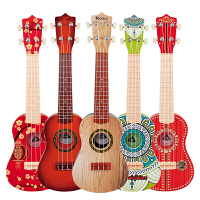儿童吉他玩具仿真迷你乐器琴音乐宝宝初学者小吉他可弹奏尤克里里