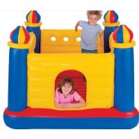 美国INTEX48259 城堡 跳跳乐 跳跳床 充气蹦床 儿童充气游乐场