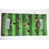 迷你足球场模型纪念品 皇马巴萨梅西C罗公仔球迷礼品周边生日礼物