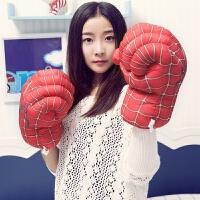 毛绒玩具蜘蛛侠拳击手套儿童搞怪拳套绿巨人男女生日礼物 30厘米/对