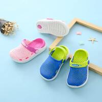 儿童男童夏季包头凉拖鞋小童软底防滑女孩沙滩鞋宝宝拖鞋