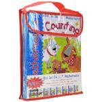 英国幼儿启蒙英文原版练习册Get Set Go Mathematics 4-7岁预备数学可擦练习册绘本4本套装 原装教