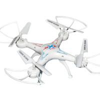 遥控飞机航拍 四轴飞行器耐摔无人机儿童玩具直升机航模 无线照相手机实时传输录像特技男孩礼物 探险者白色不带摄像头