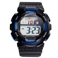 电子表学生运动户外男孩时尚大表盘数字式防水多功能电子手表潮SN5319