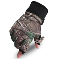 20180414040705202男士迷彩新款内里抓绒加厚防滑触摸屏骑行手套战术军迷手套
