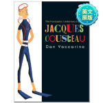 Jacques Cousteau 奇异的水下生活 英语童书 趣味启蒙图书