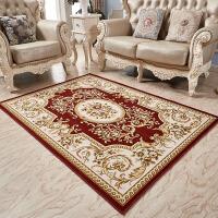 美式沙发地毯客厅茶几毯欧式家用地垫卧室床边简约现代长方形耐脏