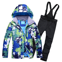 滑雪服套装 男女款户外防水保暖单双板滑雪衣裤情侣款
