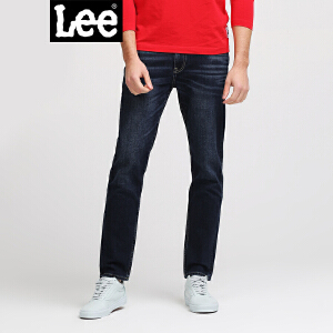 Lee男装 2018春夏新品商场同款Smiley中腰九分牛仔裤L147312UZ8CU