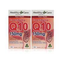 【网易考拉】【守护心脏健康】Healthy Care 辅酶Q10胶囊 100粒*2瓶