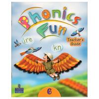培生英文原版进口 朗文自然拼读 longman Phonics Fun 教师用书+CD 第六级 教学资源 幼少儿教材 小学英语拼读