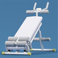 多功能仰卧板仰卧起坐健身器材家用腹肌板收腹机仰卧起坐板 柠檬黄