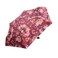 复古防晒防紫外线遮阳伞黑胶超轻创意个性五折迷你口袋袖珍手机伞
