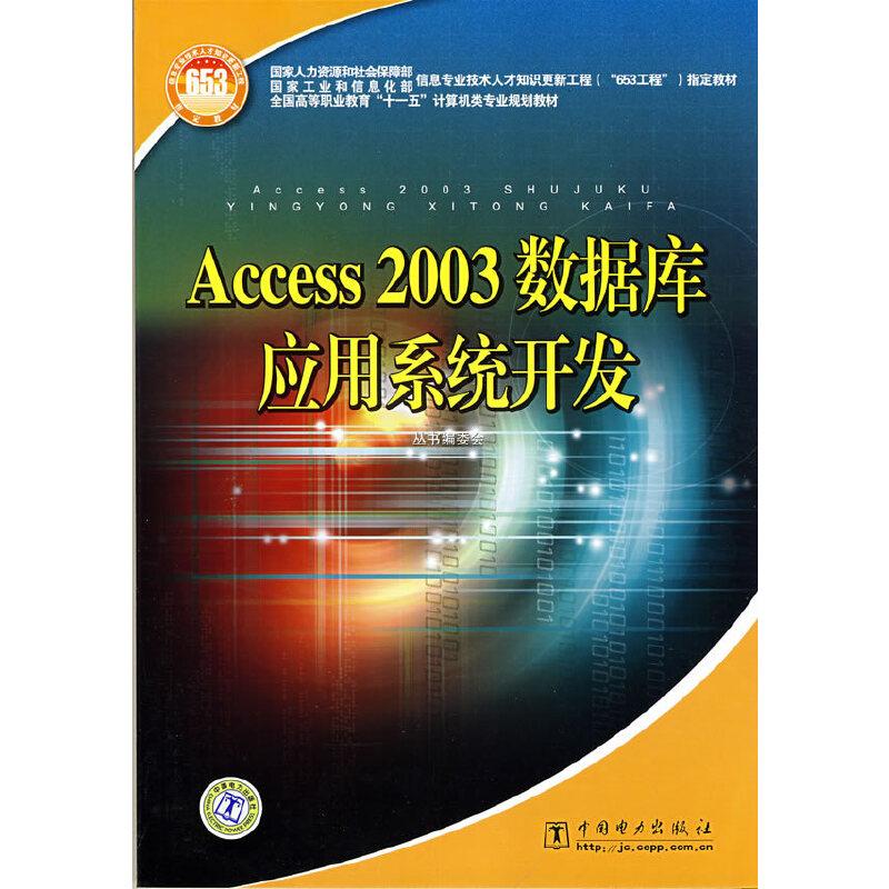 Access2003数据库应用系统开发 PDF下载