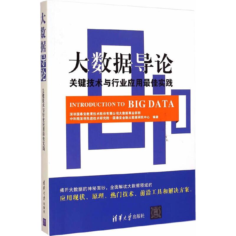 大数据导论:关键技术与行业应用最佳实践 PDF下载